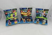 x3 LEGO DIMENSIONS Fun Pack 71287 71222 71348 Teen titans go harry potter chima