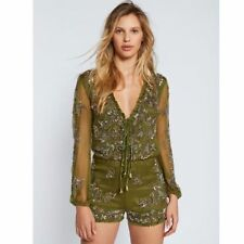Free People Mimi Sequin Romper-4-$300 MSRP