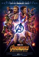 Avengers Infinity War Movie Poster 8x10 11x17 16x20 22x28 24x36 27x40 Marvel
