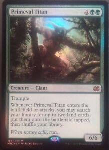Titan primitif PREMIUM / FOIL VO - Primeval Titan Modern Masters - Mtg Magic -