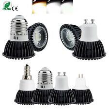 5W LED Spotlight Bulb GU10 E27 E12 MR16 12V Aluminum COB Bulbs 85-265V Lamps SS