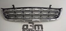 2013-2015 Chevrolet Traverse Front Chrome / Black Lower Grille new OEM 20983791