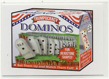 Wacky Packages Trumpocracy The First 100 Days Card #52 Trumpocracy Dominos