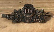 Antique Wwi Nova Scotia Highlanders 193 Overseas Regiment Canada Collar Badge