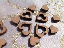 Matrimonio Decorazione Centrotavola Confetti Piccolo Cuori Amore legno tabella mix di 400