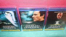 ANGELES Y DEMONIOS - TRILOGIA - BLU-RAY + DVD - NUEVAS