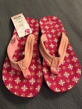 New Kids Reef Girls Thongs , Size Toddler 4 Pink Little Ahi