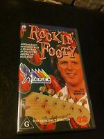 Triple M Presents Rockin' Footy VHS Oz Rock Holy Grail Skyhooks Saints Models