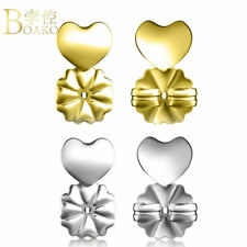 18K Gold Hypoallergenic Support Earring Backs Magic Lifts Ear Delicate Clip New
