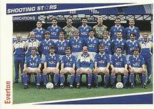 16 x EVERTON SHOOTING STARS Cards by MERLIN Publishing Ltd 1991/2 FOOTBALL CARDS