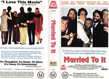 MARRIED TO IT - Beau Bridges -VHS - PAL -NEW -Never played! -Original Oz release