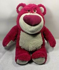 Toy Story Lotso Plush Teddy Bear Disney Pixar Strawberry Stuffed Animal 15""