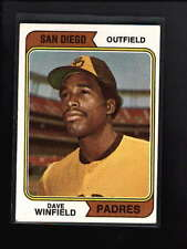 1974 TOPPS #456 DAVE WINFIELD ROOKIE RC EX+ D1640