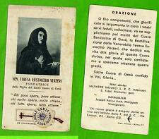 Reliquia –Santino - Reliquiario – Santa Teresa Verzeri