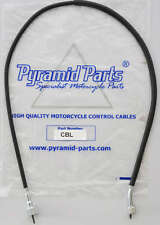 Pyramid Parts Tacho / Rev Cable fits: Yamaha RD125 DX (Spoke Wheel) 75-77