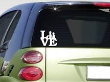 """Meerkat love Sticker *G583* 8"""" Vinyl africa desert zoo animals colony meerkats"""