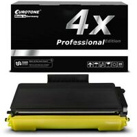 4x Eurotone Pro Cartucho Compatible para Brother HL-5370-DWT HL-5350-DNLT