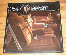 Original 1984 Oldsmobile Delta 88 LS Sales Brochure 84