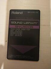 Roland Bibliothèque sonore SN-U110-05 Données Mic pour U110 Orchestral Cordes