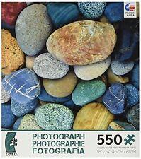Ceaco Photography Jigsaw Puzzle Color Stones Rocks Nature Intermediate 550 Piece