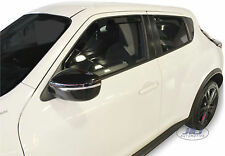 DNI24277 Nissan JUKE 2010-up wind deflectors  4pc set HEKO TINTED HEKO
