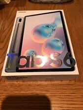 Samsung Galaxy Tab S6 SM-T865 128GB, Wi-Fi + 4G (Unlocked) 10.5in Mountain Grey