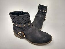 NEW! Skechers Youth Girl's Mad Dash Perfect Pizzazz Boots Blk #8776L 201HI cc