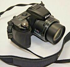Nikon COOLPIX L120 14.1MP Digital Camera - Black with Nikon neckstrap & lens cap