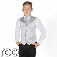 Boys Silver & Black Suit, Page Boy Suits, Boys Wedding Suits, Boys Suits