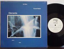 IRA STEIN-RUSSEL WALDER Elements EX 1982 WINDHAM HILL LP Piano/Oboe Chamber Jazz