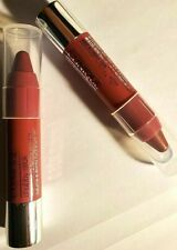 2 Clinique Chubby Stick Moisturizing Lip Color 07 Super Strawberry (Travel Size)