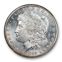 1889 S $1 Morgan Dollar NGC MS 62 PL Uncirculated Proof Like Tough in PL !