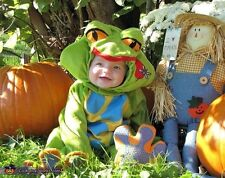 CHASING FIREFLIES CHILD KID BABY INFANT LIL TREE FROGGY FROG 6-12 MONTHS COSTUME