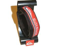 QUIKSILVER Red & Black Watchband 20mm Watch Strap Wrist Band Quicksilver BNWOT