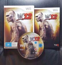 W12 WWE 12 Wrestling (Nintendo Wii, 2011) Wii Game - FREE POST