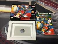 Super Nintendo SNES Micro Machines Box & Manual Only (No Game)