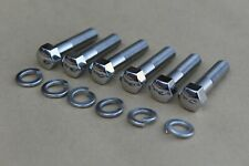 01254-08357 SUZUKI GT750 GT550 GT380 EXHAUST BOLTS STAINLESS STEEL POLISHED
