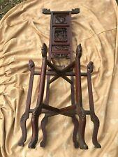 Antique Chinese Wash Stand - dragon, phoenix, fulion - agen unknown