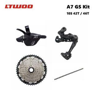 LTWOO A7 10 Speed Grupset 10S 42T / 46T kit MTB 10S group / medium cage