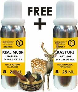 Parag Fragrances Limited Time Offer Buy Real Musk 25ml Attar & Get Kasturi 25ml