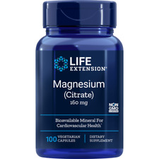 Life Extension Magnesium (Citrate) 160 mg 100 Veg Caps