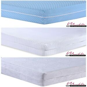 ZIPPED Mattress Cover Matress Total Encasement Anti Bug Bed Protectors Full Zip