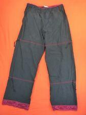 PILOU DES PARTANTS lot 2 Pantalons Taille 42 FR - Hyper stretch - kaki - noir