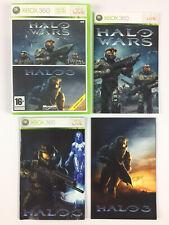 Halo 3 + Halo Wars Xbox 360 Jeu Complet