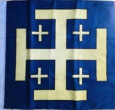 Drapeau catholique Croix De Jerusalem Flag Bandiera Baudoin IV Saint Sépulcre