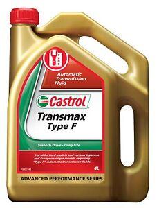 Castrol Transmax Automatic Transmission Fluid Type F 4L 3371519 fits BMW 3 Se...