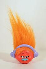 "2017 DJ Suki 2.5"" McDonald's Pencil Topper Head #6 Action Figure Trolls"