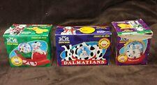 Disney McDonalds 101 Dalmations Snow Domes, Set of 3, 1996 McDonalds Toy in box