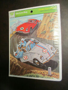 VINTAGE WALT DISNEY'S HERBIE THE LOVE BUG FRAME-TRAY PUZZLE IN ORIGINAL PLASTIC