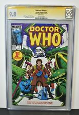 Doctor Who #1 1984 CGC Grade 9.8 Signature Series Signed by Dave Gibbons C1